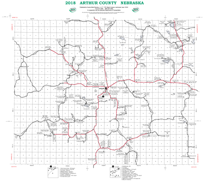 Picture of Arthur,NE Rural Resident Wall Map
