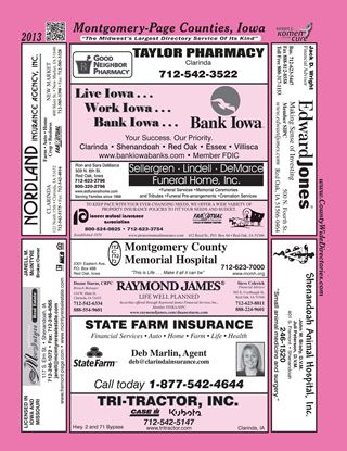 Picture of Montgomery-Page, IA Directory 2013