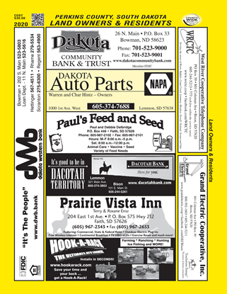Picture of Perkins,SD Plats ONLY Directory/15