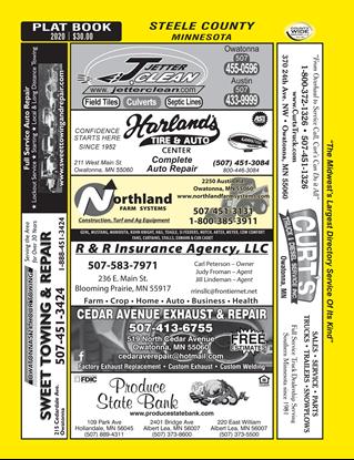 Picture of Steele County, MN (w/ Plats) Desktop Directory PDF