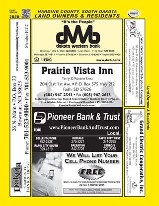 Picture of Harding,SD Plats ONLY Desktop Directory-pdf
