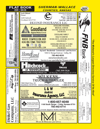 Picture of Sherman-Wallace,KS(w/Plats) Desktop Directory-pdf