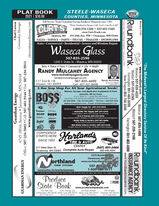 Picture of Waseca-Steele,MN Directory (w/ Plats)